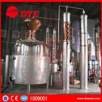 Quality 5000 L Red Copper Grain Alcohol Distiller Dye Wine Distillery CE Approved wholesale