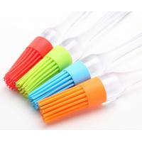 Reusable Non Toxic Silicone Baking Set / Silicone Kitchen Brush For Cake