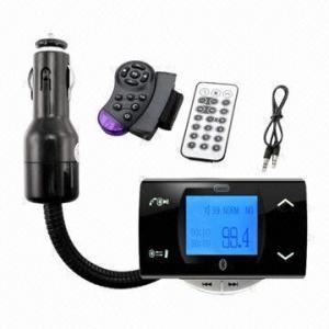 Quality Handsfree Bluetooth MP3 Car Player wholesale