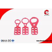 Quality 6 Hole Factory sales Economic Lockout Hasp with steel lock size 25mm wholesale