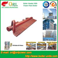Quality High Pressure CFB Boiler Header Steam Boiler Header with ASME wholesale
