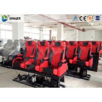Quality Large 4D Movie Theater , Electronic 4DM Motion Cinema Equipment wholesale