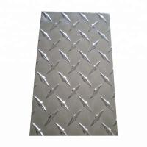 Cheap Decoration Aluminium Checker Plate , Customized Diamond Plate Sheets for sale