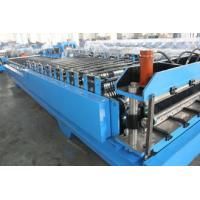 China Automatical Roof Panel Roll Forming Machine For Roof / Wall Panel on sale