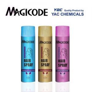 Quality Fresh Fragrance Aerisik Aerosol Hair Spray Keeping Hair Moisture Styling Hair Any Style wholesale