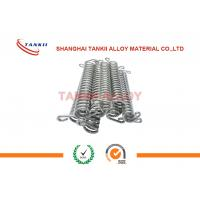 Quality FeCrAl / Nichrome Precision Alloy Resistance Spiral / Spring Accostomized Size wholesale