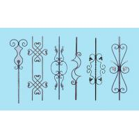 Quality Wrought Iron Elements/ Ornaments for balusters and gates--Forged balusters and newel post wholesale
