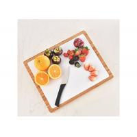 Quality All in one premium organic bamboo chopping board with 6 flexible cutting mats wholesale