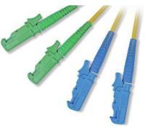 China E2000 Fiber Optic Patch Cord with E2000 fiber optic connectors on sale
