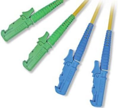 Cheap E2000 Fiber Optic Patch Cord with E2000 fiber optic connectors for sale