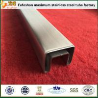 Quality 304 Special Square Stainless Steel Slotted Tube Supplier wholesale