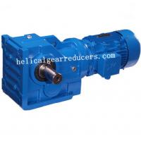 Quality DOFINE  Helical Worm Gear speed reductor S series speed gear motor wholesale