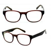Quality Square Ladies Acetate Optical Frames, Lightweight Handmade Acetate Glasses Frames wholesale