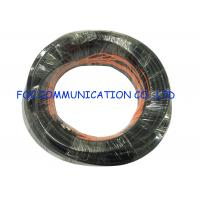 Quality Outdoor Fiber Optic Patch Cord Armored SMA Black Jacket UV Resistant FTTH Use wholesale
