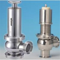 Quality Manual Sanitary Stainless Steel  Safety Valve Thread ends wholesale