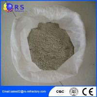 Quality CA 80 Castable Refractory Cement Used in Machinery Processing , High Thermal Stability wholesale