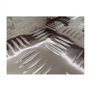 Quality 4x8 Feet 2.0MM Thickness Aluminum Diamond Plate Sheets Anti Slip 1060 Grade wholesale