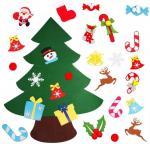 Quality DIY Felt Christmas Hand Crafts Tree Sets Ornament Decoration Multi - Color Choice wholesale