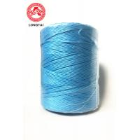 Quality 100% Virgin Blue PP Twisted Hay Poly Baler Twine 1 - 3mm 25KD UV  -  Treated wholesale