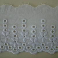 China Cotton Embroidered Lace, Used for Underwear, Customized Sizes and Colors are Welcome on sale