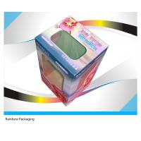 Quality Fancy Cake Paper Packaging Boxes Recycled With Transparent Window wholesale