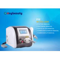 Quality professional laser tattoo removal Portable Q Switched Nd Yag Laser Tattoo Removal Machine Color Touch Screen CE Approved wholesale
