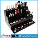 China new products acrylic makeup display, acrylic makeup box, acrylic makeup storage boxes