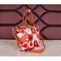 Quality Wholesale original top quality C-O-A-Ch women cloth& leather new colourful fashion handbag wholesale