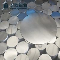 Cheap Deep Drawing Anodized Aluminum Discs Round Shape For Making Road Sign for sale
