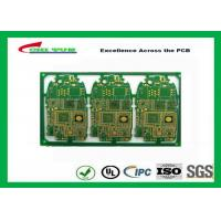 Quality HDI 6L FR4 1mm Immersion Gold PCB Engineering for Cell Phone / Mobile Phone wholesale
