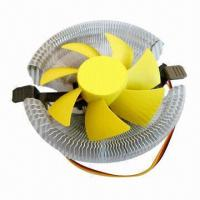 Quality CPU Cooler with Hydraulic Bearing and 12V DC Voltage wholesale