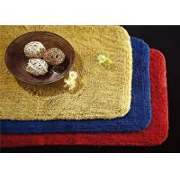 Quality 5 Star Custom Embossed Hotel Bath Mats , Hotel Style Collection Bath Mat wholesale