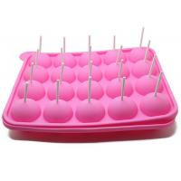 Quality 20 Holes Cake Lollipop Molds Silicone Ice Tray Lollipop Chocolate Mold wholesale