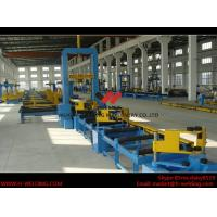 Cheap VFD Spot Welding Speed Control H Beam Assembling Machine Automatic To Fix Flange And Web for sale