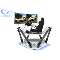 Quality Customized  Entertainment Three Screen Racing Car Simulator wholesale