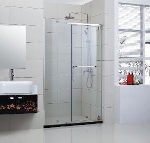 China Semi-Frameless Hinge Shower Door (XIP-002) on sale