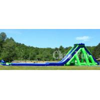 Quality Inflatable Big Pool Slide Water Park Combination Slide wholesale