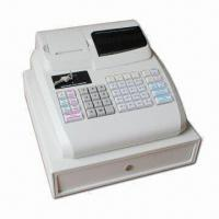 Quality Electronic Cash Register with ARM7 CPU, 48 Keys Keyboard and 9 Digits LED Operator Display wholesale