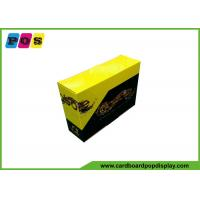 Quality CMYK Full Color Printed Product Packaging Boxes With Micro Cutting CDU076 wholesale