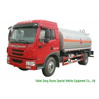 Quality FAW Gasoline Tanker Truck For Vehicle Refueling With PTO Fuel Pump And Dispenser wholesale