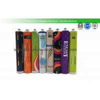 China Shoulder Lacquered Aluminum Tube Containers , Body Cream Empty Aluminum Tubes on sale