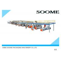 China High Precision Corrugated Paperboard Production Line 3 Layers 1800 Mm on sale