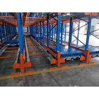 Quality Powder Coating Surface Radio Shuttle Racking System Semi Automatic Storage wholesale