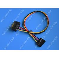 Quality Internal 15 Pin Male To Female SATA Data Cable For Computer IDC Type wholesale