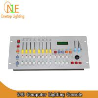 Quality 240 Computer Lighting Console Disco DMX512 240CH computer light controller dj controller wholesale