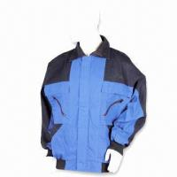 Quality Flame-retardant Work Jacket, Made of 65% Polyester and 35% Cotton wholesale
