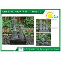 Quality Carving Granite Cast Stone Garden Fountains Indoor / Outdoor Ornaments wholesale
