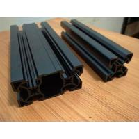Quality Black Sandblasting Anodized Industrial Aluminium Section Profile For Assembly Line And Production Line wholesale