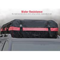 Quality 10 Cubic Feet Roof Top Bags For Cars With Water Resistant PVC coated 600D Nylon wholesale