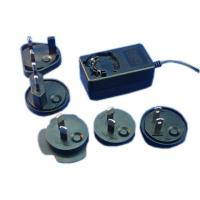 Quality Interchangeable plug power adapter 12V 1A AC/DC switching power supply with EU,UK,AU,USA wholesale